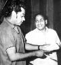 Kishore and Rafi saheb